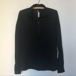 Lululemon Black half-zip pullover top